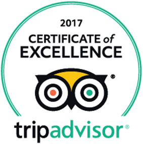 Trip Advisor awards Tom's Muir Woods Tour the 2017 Certificate of Excellence